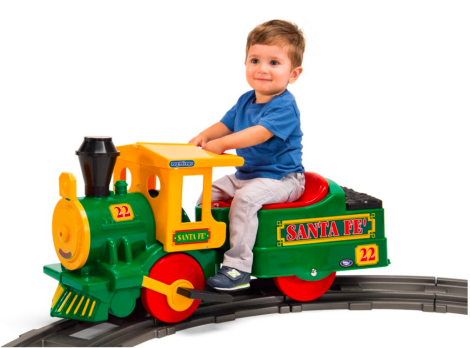 The Case of the Magical, Disappearing Electric Toy Train Set